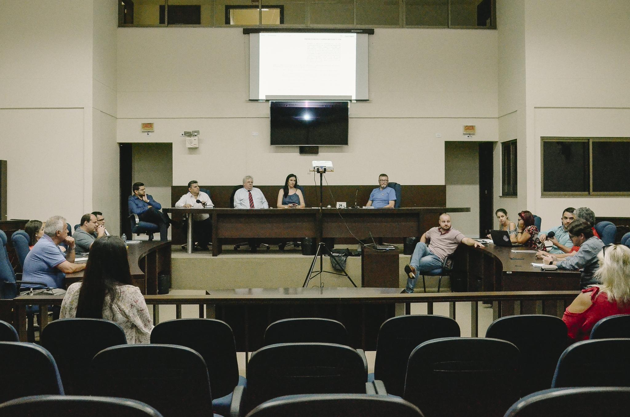 Reunião - Análise PLC 01/20 - Trata das alterações no Regime de Previdência dos Servidores de Indaial